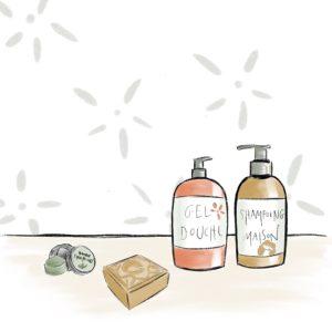 Shampooing / Gel douche